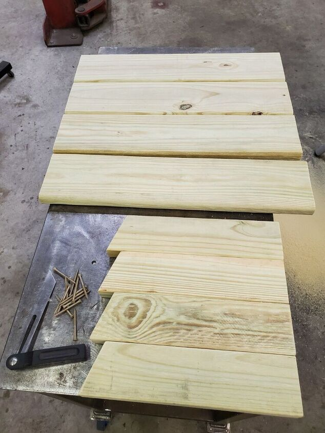 backrest instructions for diy wood deck chairs