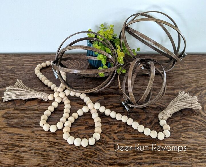 quick and easy wooden orb home decor project