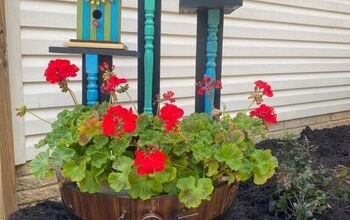 How to Make a Whiskey Barrel Planter