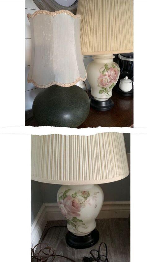 diy textured lamp