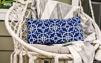 Easy DIY Outdoor Throw Pillows