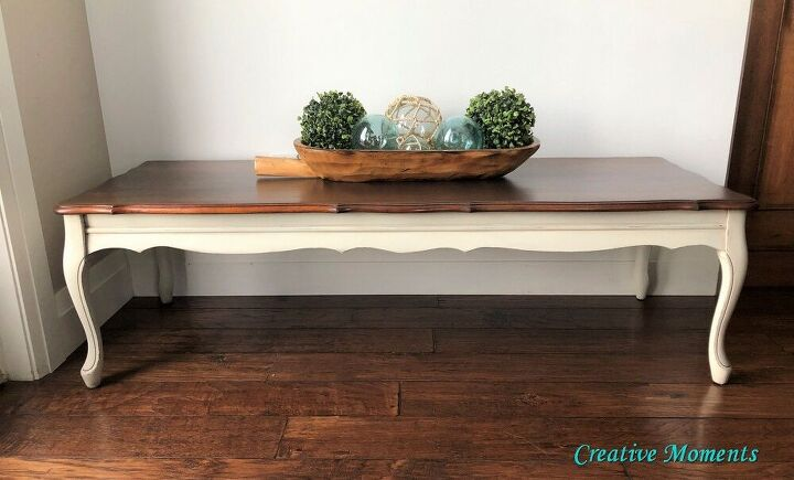 farmhouse french provincial coffee table