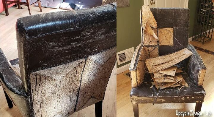 paper chair you say upcycled furniture fix