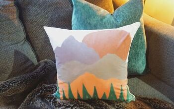 Boho Pillow Painted With Tulip Soft Matte Paints