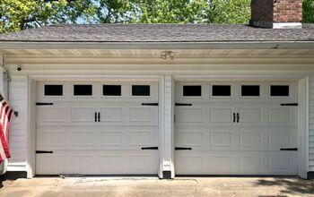 Quick. Easy. Cheap. Garage Door Update.
