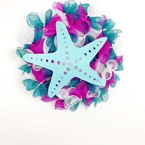 Starfish Beach Wreath