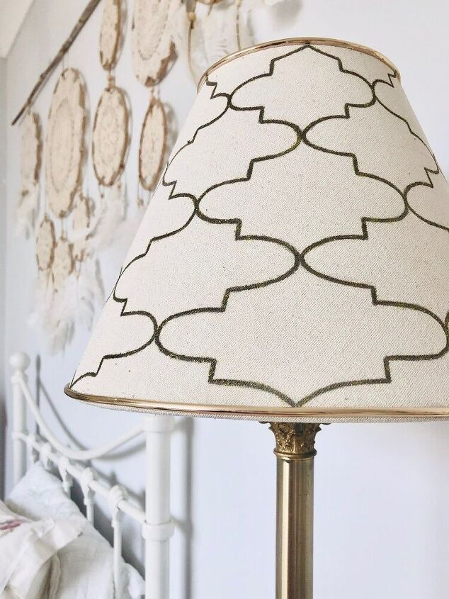 lamp shade makeover