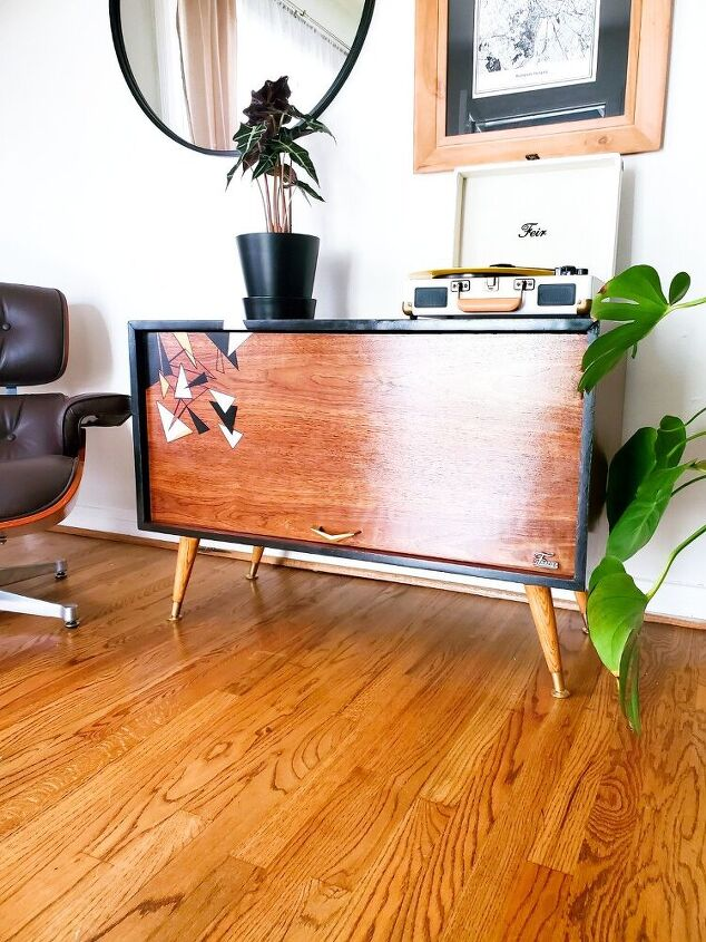 coolest little record cabinet