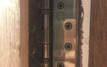 My Top Tip for Fixing New Door Hinges to an Old Door Frame!