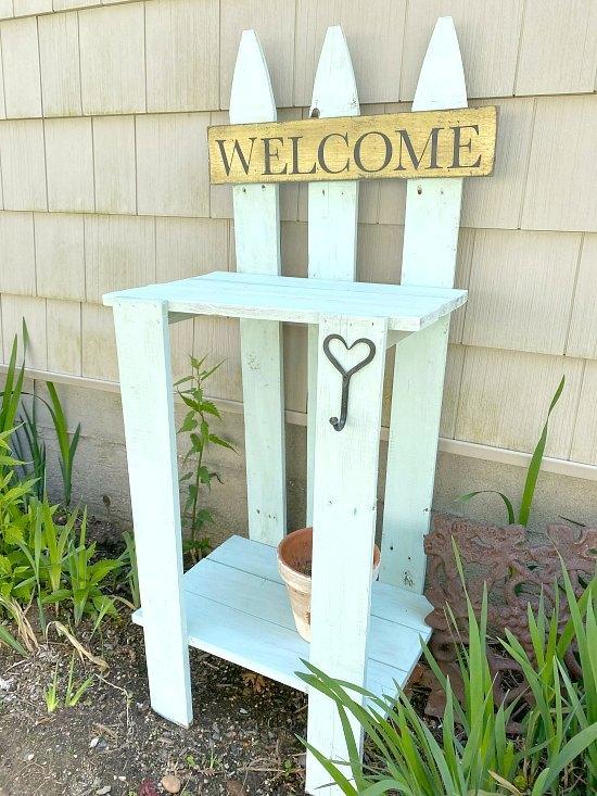 outdoor table for the garden