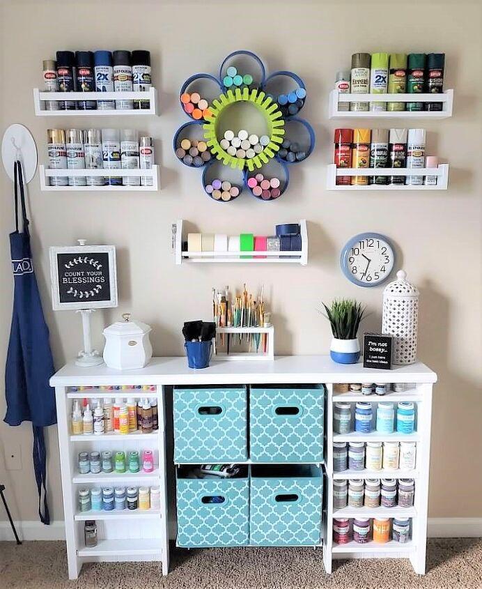 diy paint storage inspiration