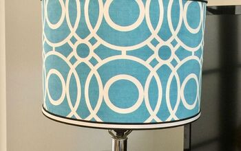 Slipcovered Lampshade