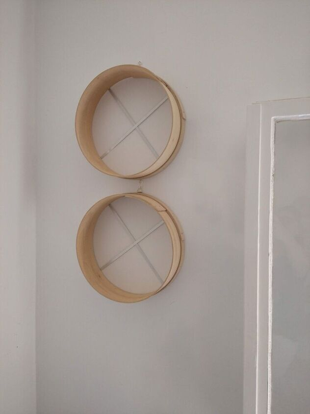 round sifter shelves