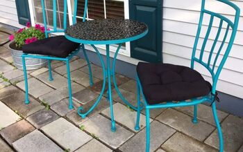 Why I Painted a New Bistro Set