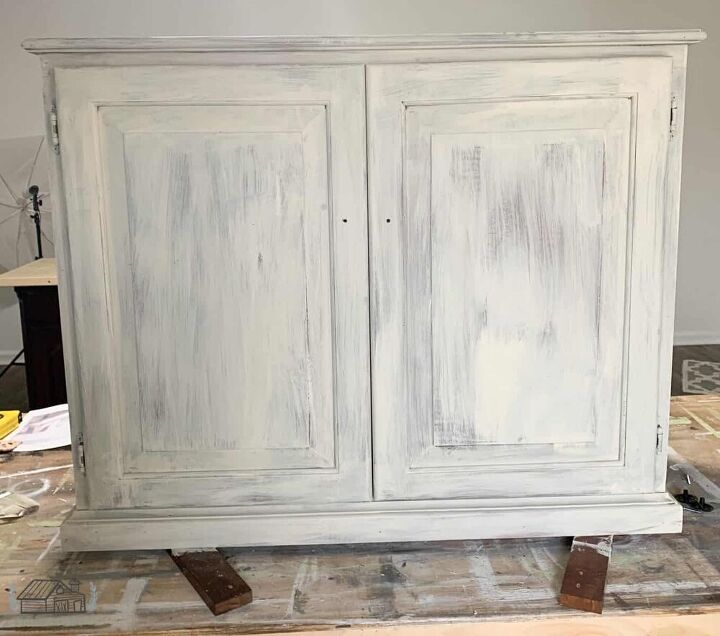 repurposed kitchen cabinet
