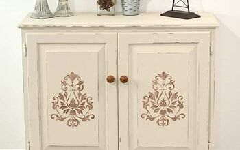 The Breathtaking Way She Decides to Use an Old Kitchen Cabinet