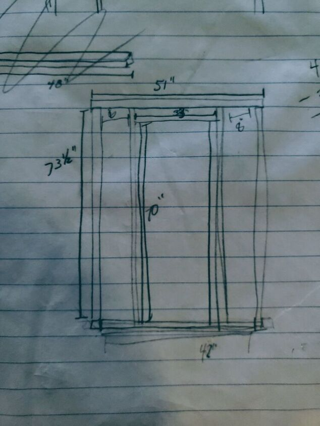 Rough Drawing of the Human Door Frame