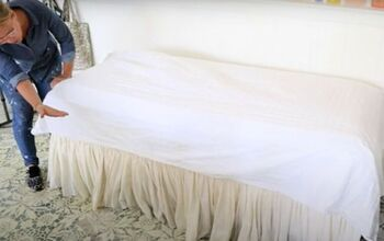 How to Make a Fitted Sheet Out of a Flat Sheet.