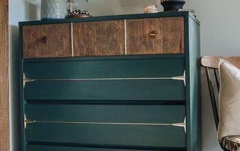 Refinished Mid-Century Dresser