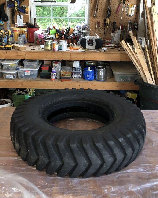 donut tire swing