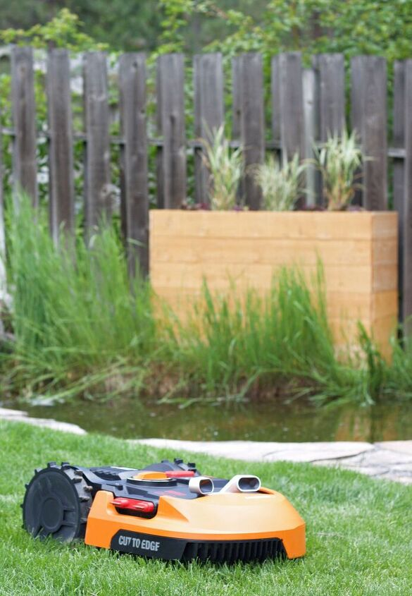 worx landroid review and diy rectangle planter box