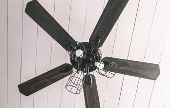 DIY Ceiling Fan Update