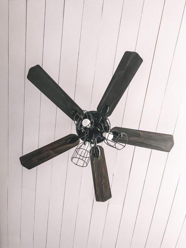 diy ceiling fan update