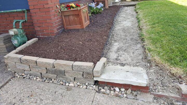 q easiest way to replace a walkway sidewalk