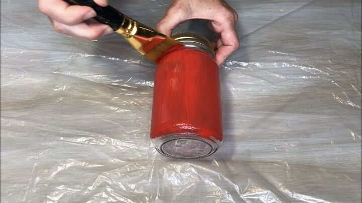 how to make mason jar fruit glasses