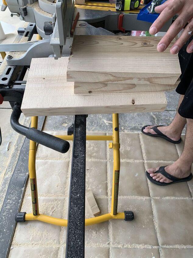 scraps to stool