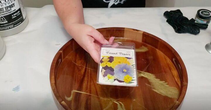 Add Pressed Flowers