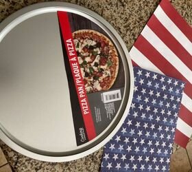 Pizza Pan Flag Hometalk