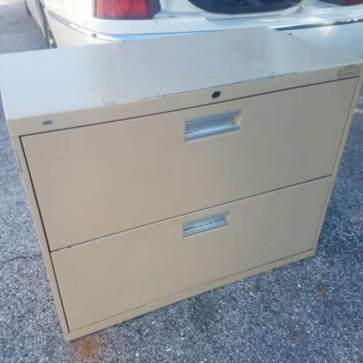 turn metal file cabinets into kitchen cabinets