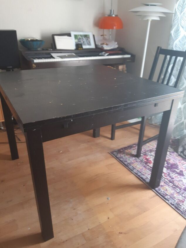 q how do i fix up this ugly table