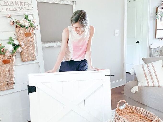 diy barn door baby gates you can make in a day