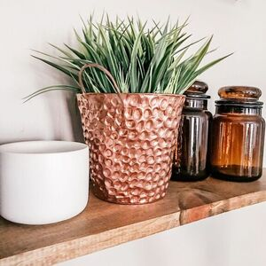 Faux Copper Planter