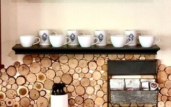 Easy Rustic Backsplash