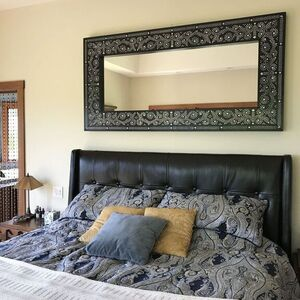 Stenciled Inlay Mirror