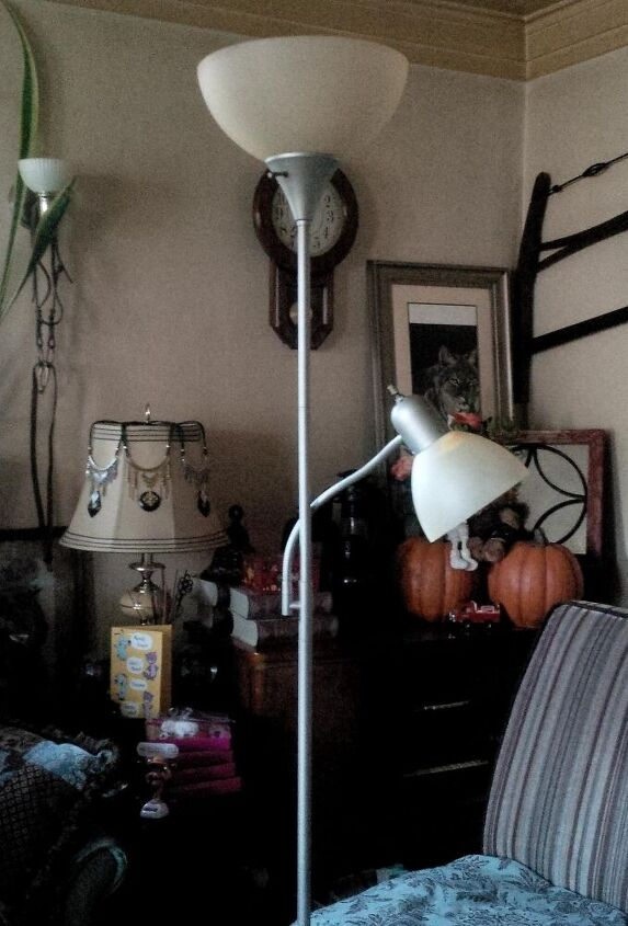 Update Upcycle A Torchiere Floor Lamp Hometalk