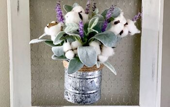 Cotton and Lavender Farmhouse Wall Decor