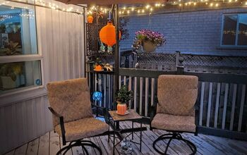 Salvaged Patio Chairs