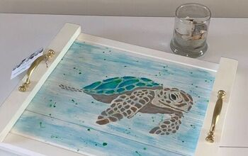 Sea Turtle Serving Tray
