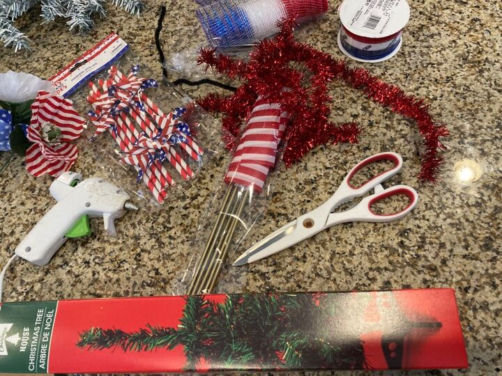 how to make a swag with dollar store items