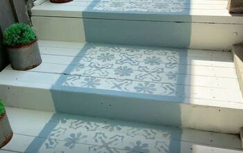 Create a Faux Front Porch Rug to Welcome Your Guests in Style