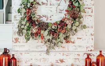 DIY Live Eucalyptus Wreath