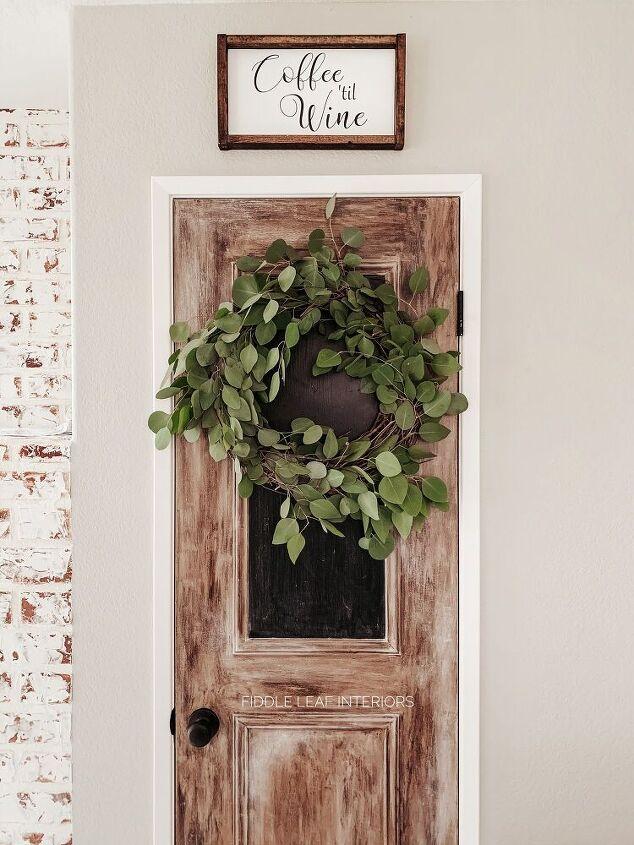 diy live eucalyptus wreath