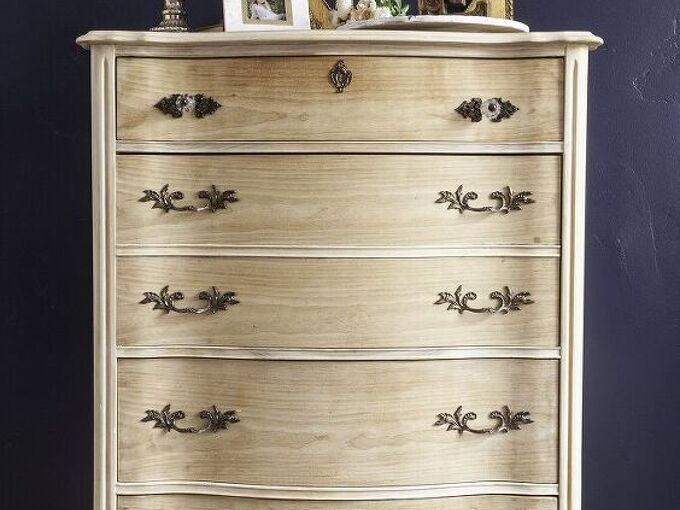 how to refinish furniture with a raw wood look