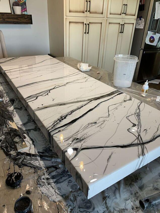 simple epoxy countertop