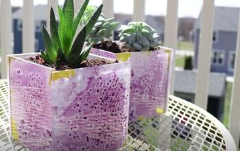 Create a DIY Succulent Planter in 3 Easy Steps With Decorative Tiles