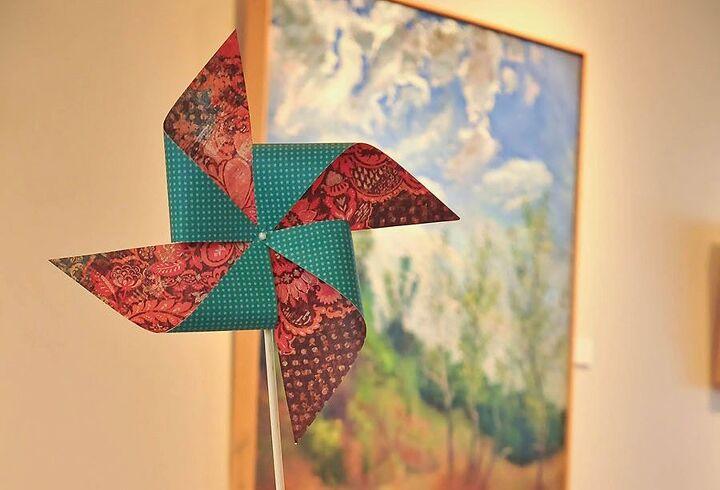 how to make a diy paper pinwheel